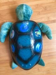 Ночник Черепаха Звездное небо,  ночная лампа для детей.