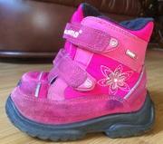 Продам термосапоги,   ботинки Reima разм. 24 для девочки