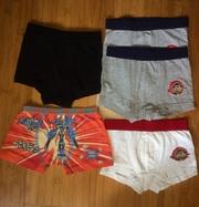Продам трусы-боксеры на мальчика 4- 9 лет,  размер 92,  96, 104, 110,  116