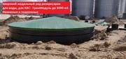РВС 500 м3 вертикальный стальной резервуар