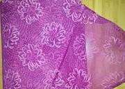 Ткань,  материал капрон (органза) с объемным узором.