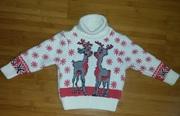 Продам свитер,  гольф теплый,  красивый на малыша 1-2 года