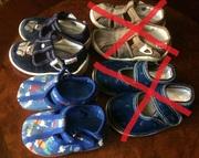 Продам тапки,  босоножки,  туфли,  мокасины детские размер20-24