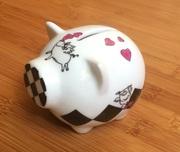 Оригинальная копилка для денег «Бык» с символом 2021 года